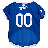 Los Angeles Dodgers MLB Dog Jersey