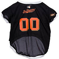 San Francisco Giants MLB Dog Jersey