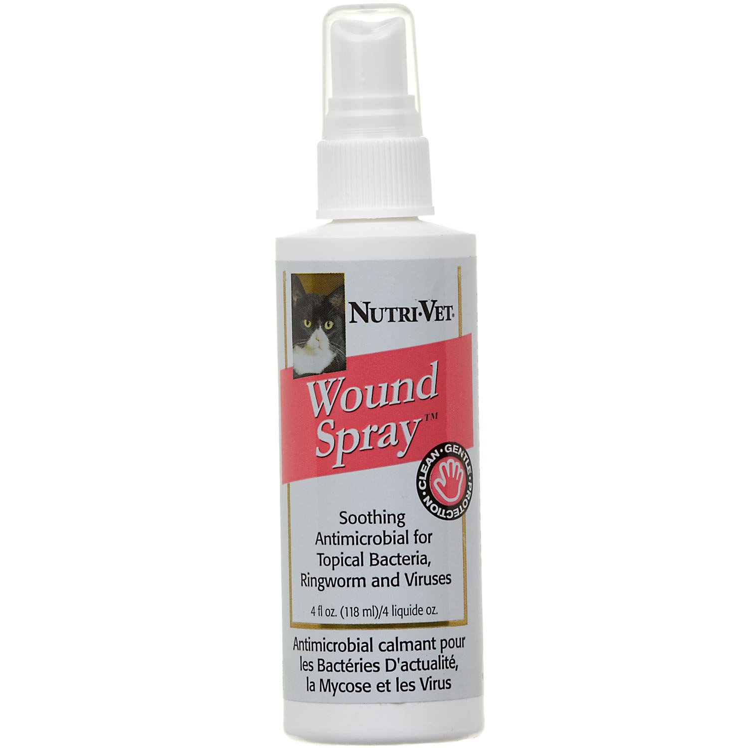 Nutri-Vet Antimicrobial Cat Wound Spray