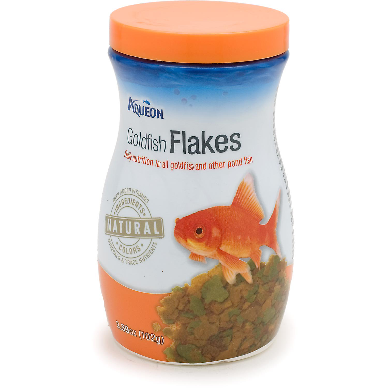 Aqueon Goldfish Flakes 3.59 Oz.
