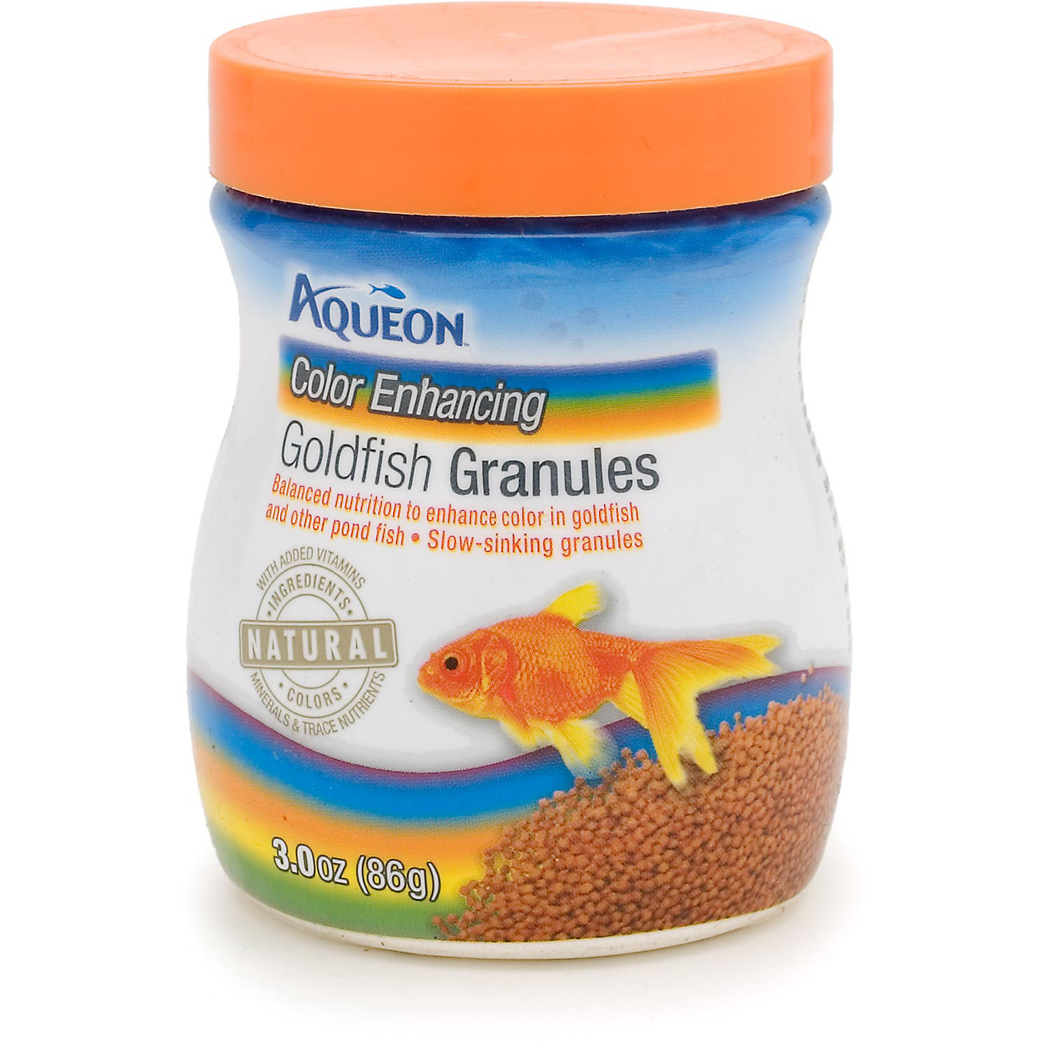 Aqueon Color Enhancing Goldfish Granules 3 Oz.