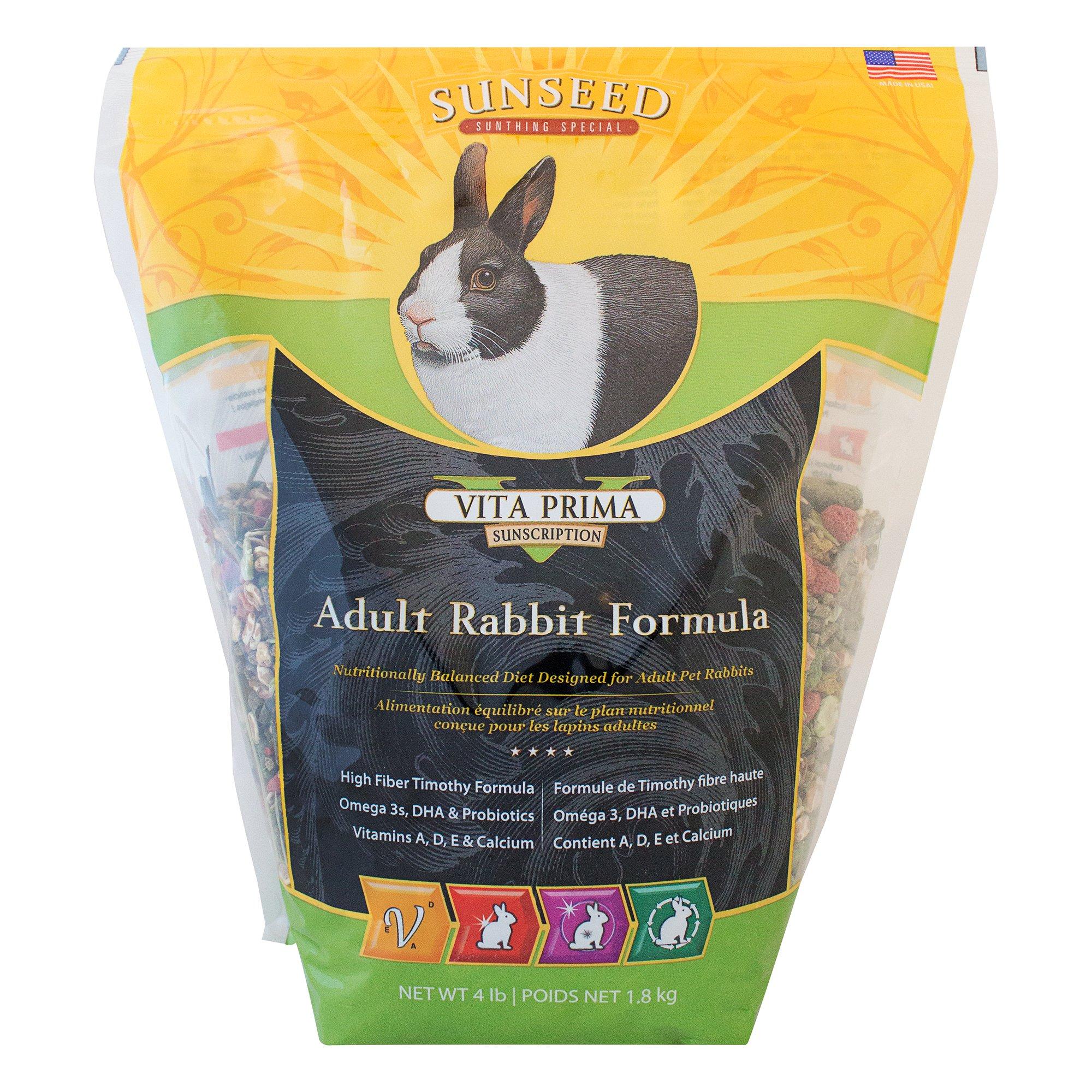 Sun Seed Sunscription Vita Prima Adult Rabbit Formula