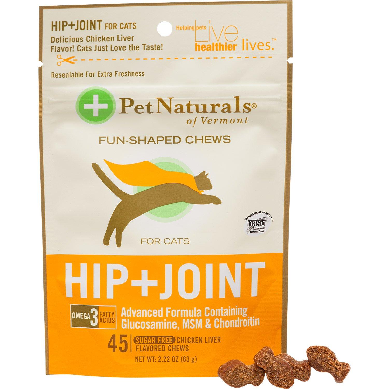 Pet Naturals Hip + Joint Cat Soft Chews
