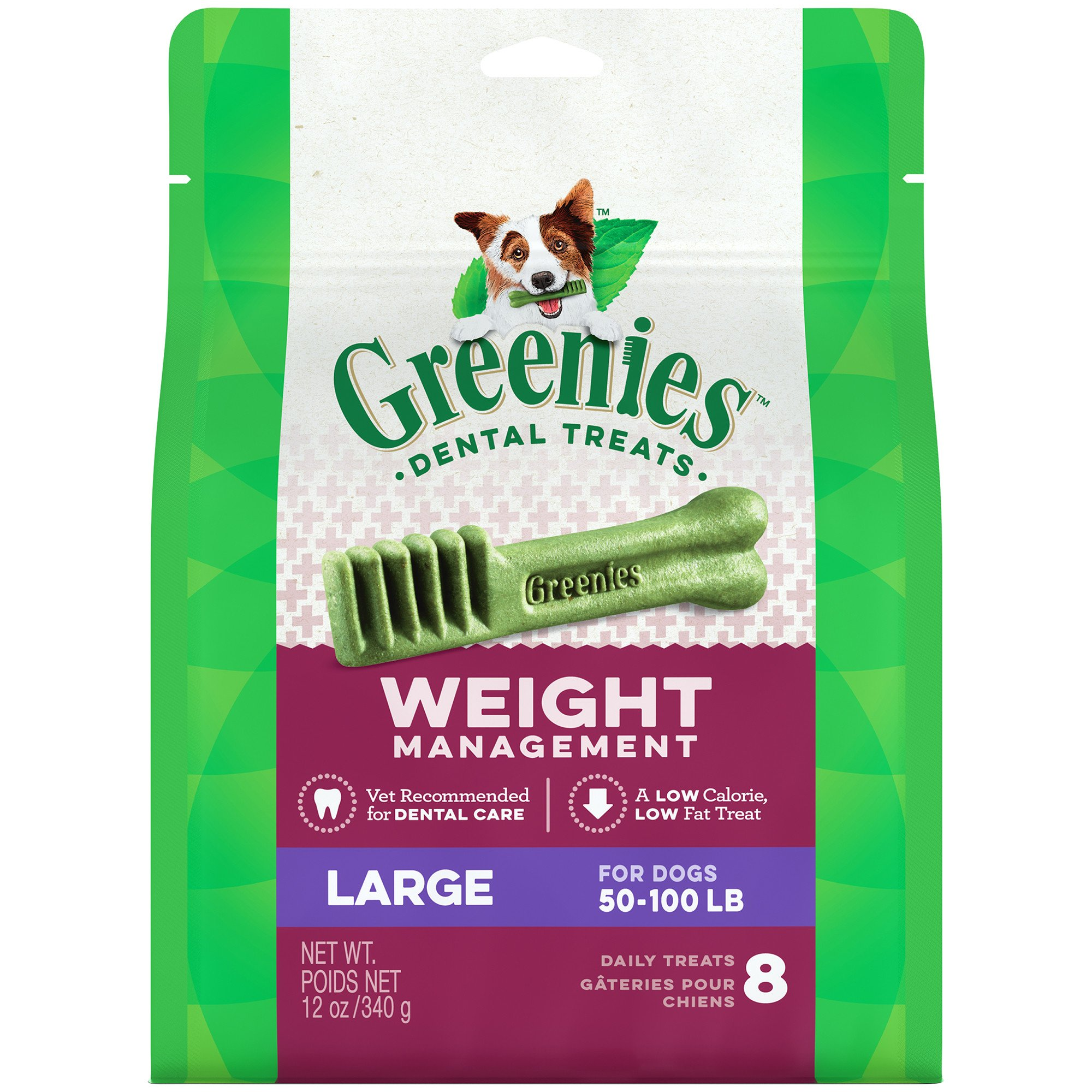 Greenies Weight Management Large Dental Dog Treats