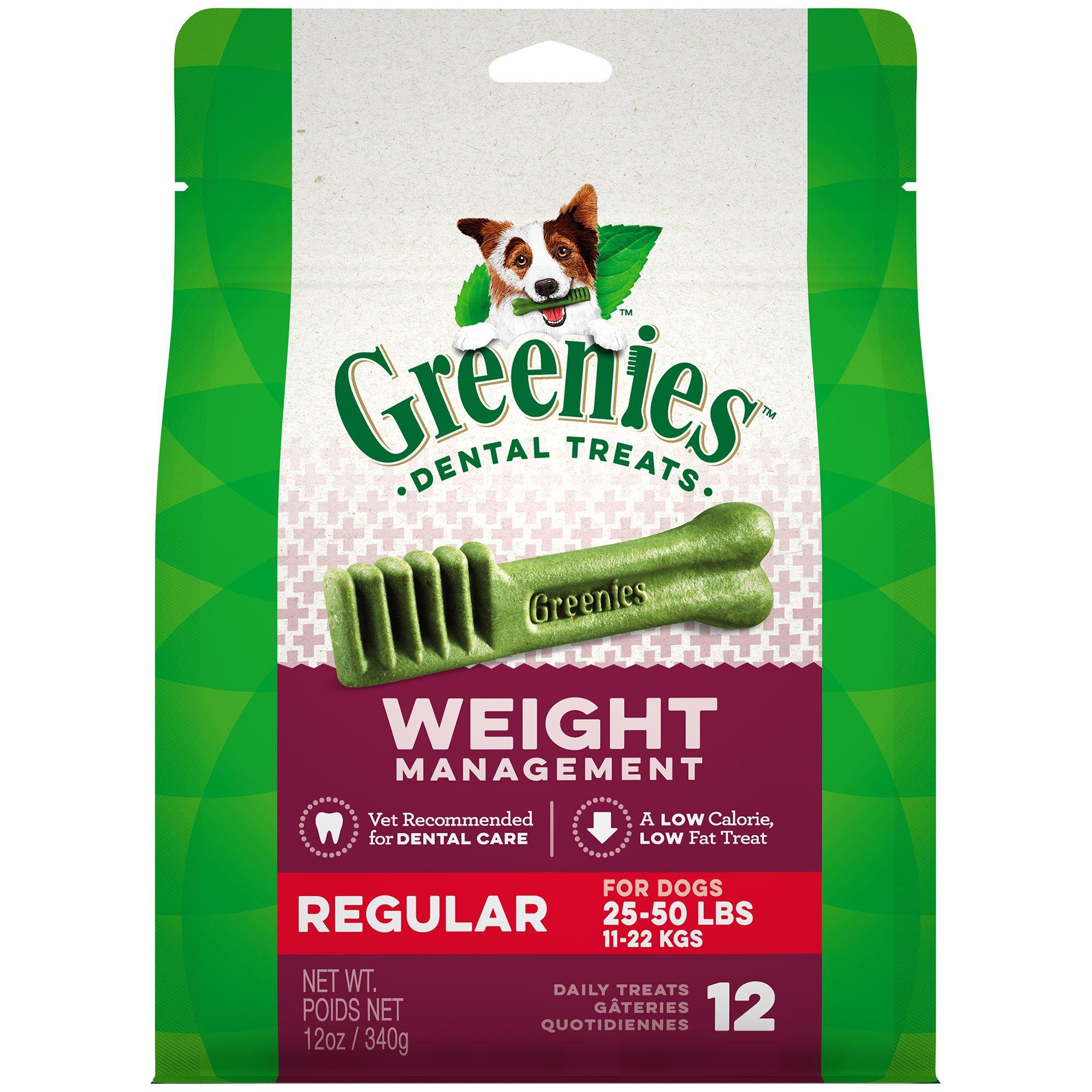 Greenies Weight Management Regular Dental Dog Treats