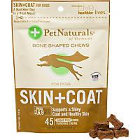 Pet Naturals Skin + Coat Soft Chews Dog Supplements