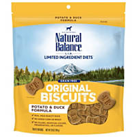 Natural Balance L.I.T. Limited Ingredient Treats Potato & Duck Formula Treats
