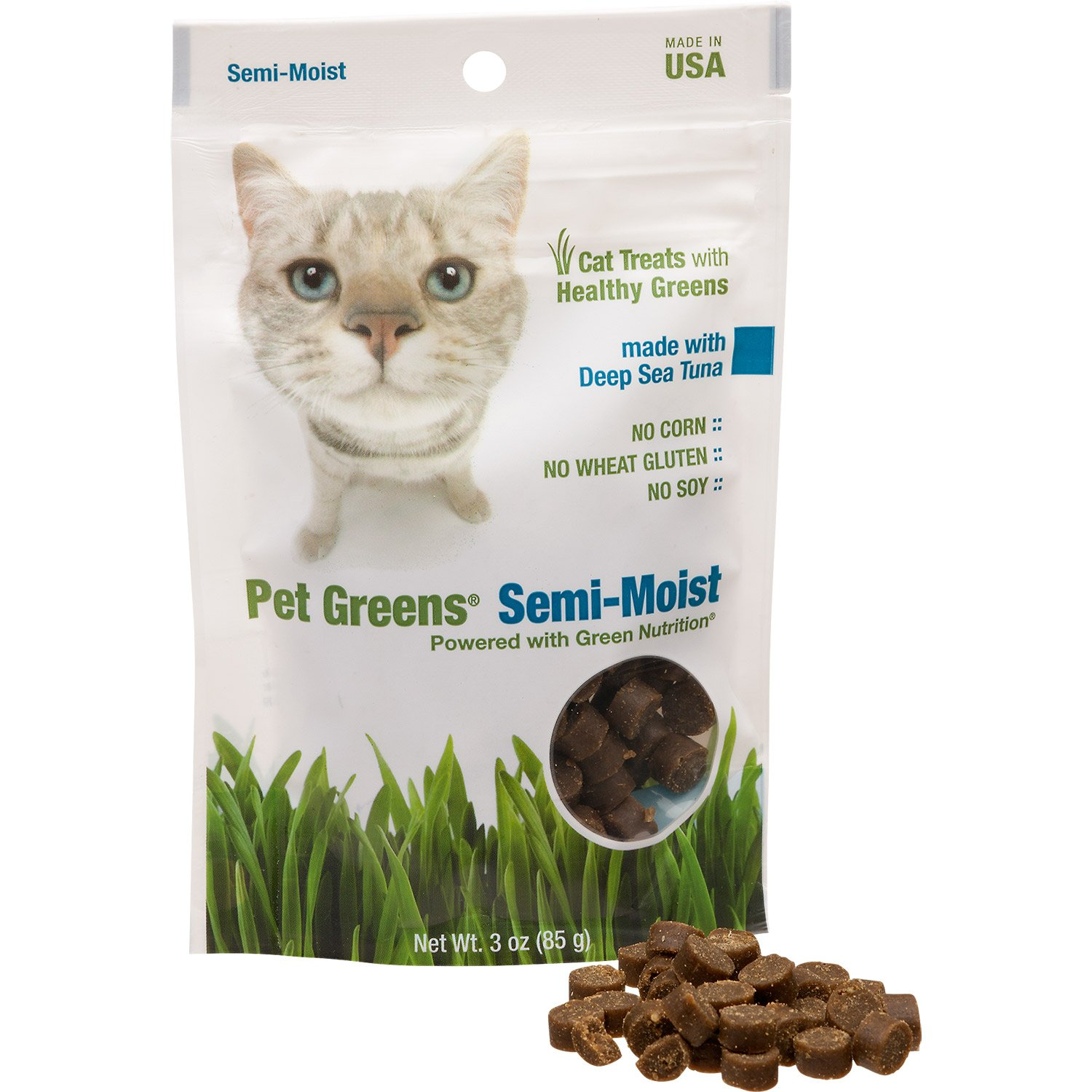 Pet Greens Deep Sea Tuna Semi-Moist Cat Treats