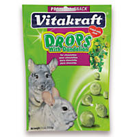 Vitakraft Dandelion Drops for Chinchillas