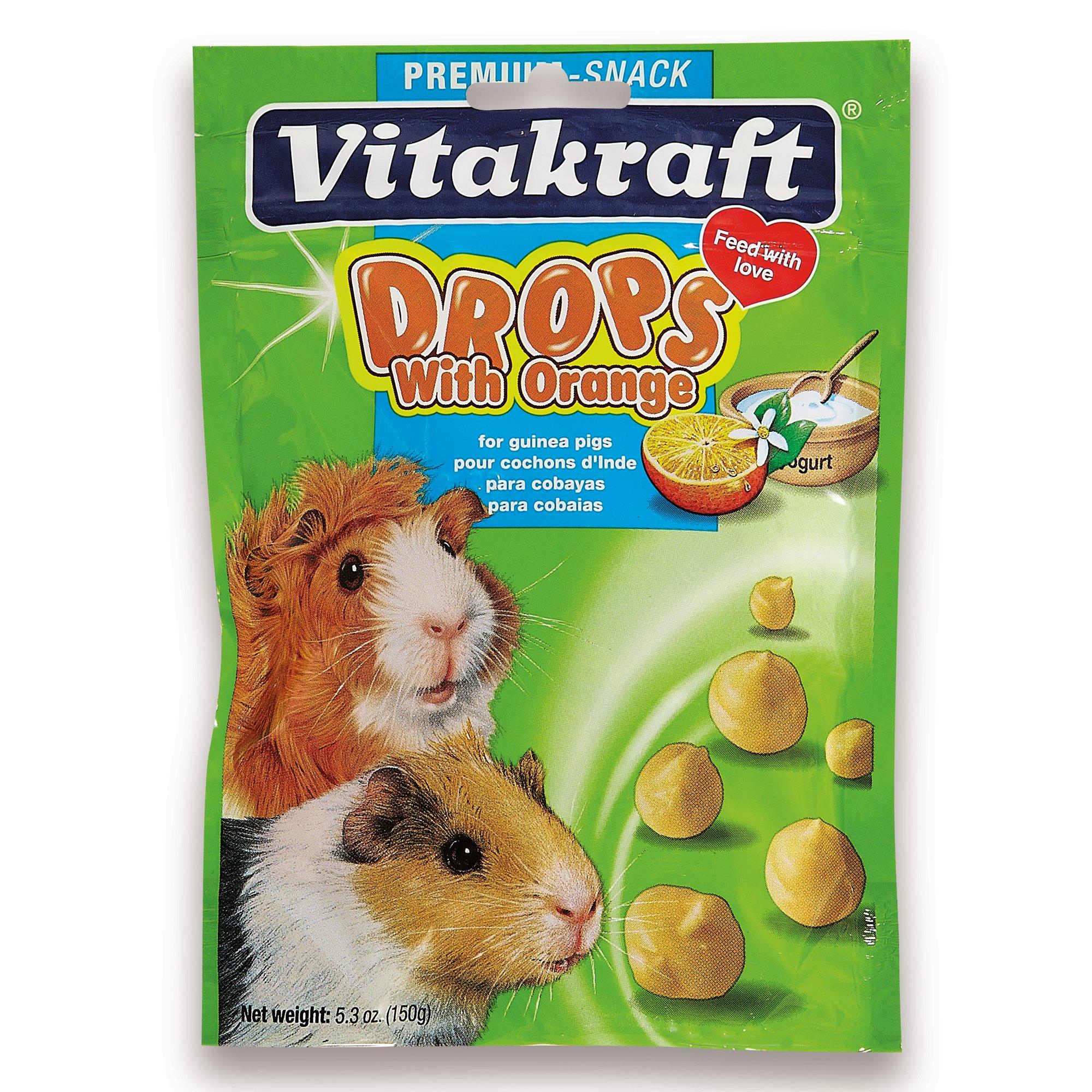Vitakraft Orange Drops for Guinea Pigs