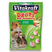 Vitakraft Strawberry Drops for Hamsters