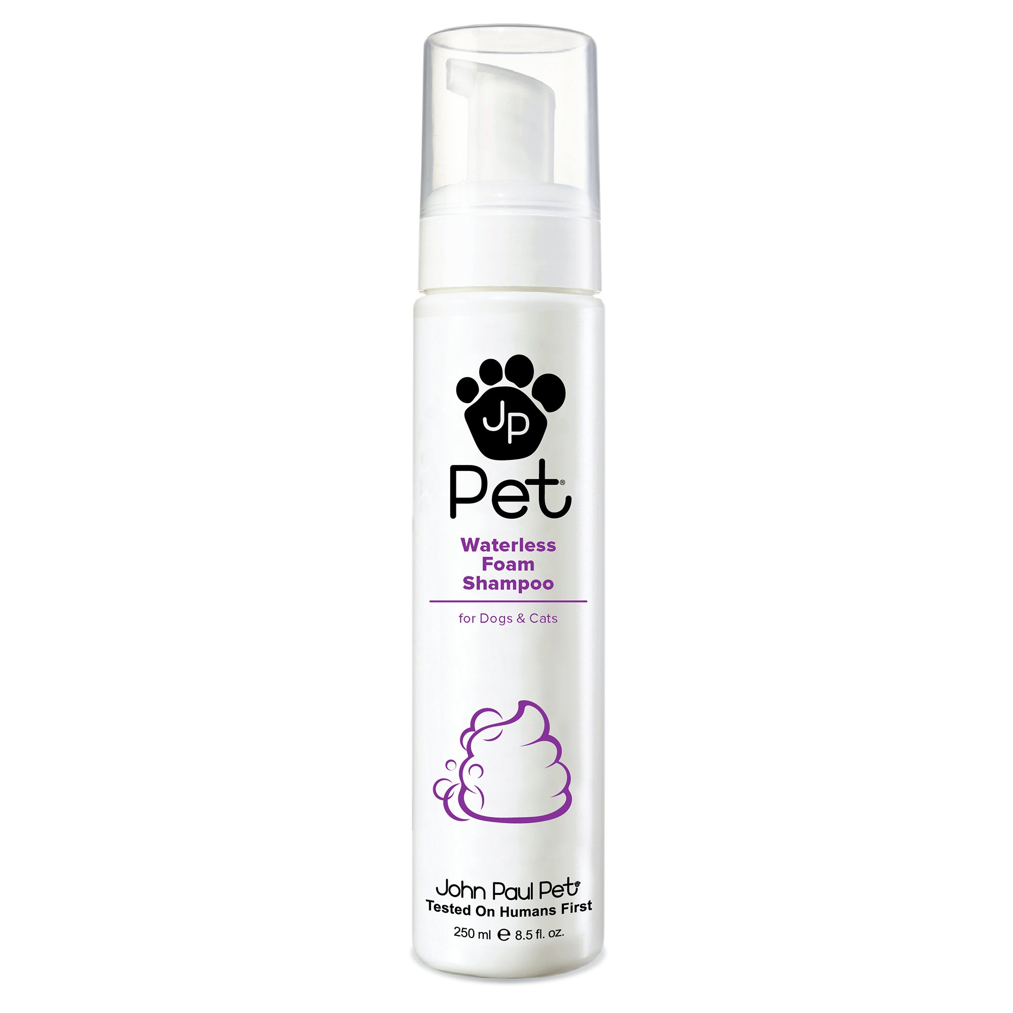 John Paul Pet Waterless Foam Dog & Cat Shampoo