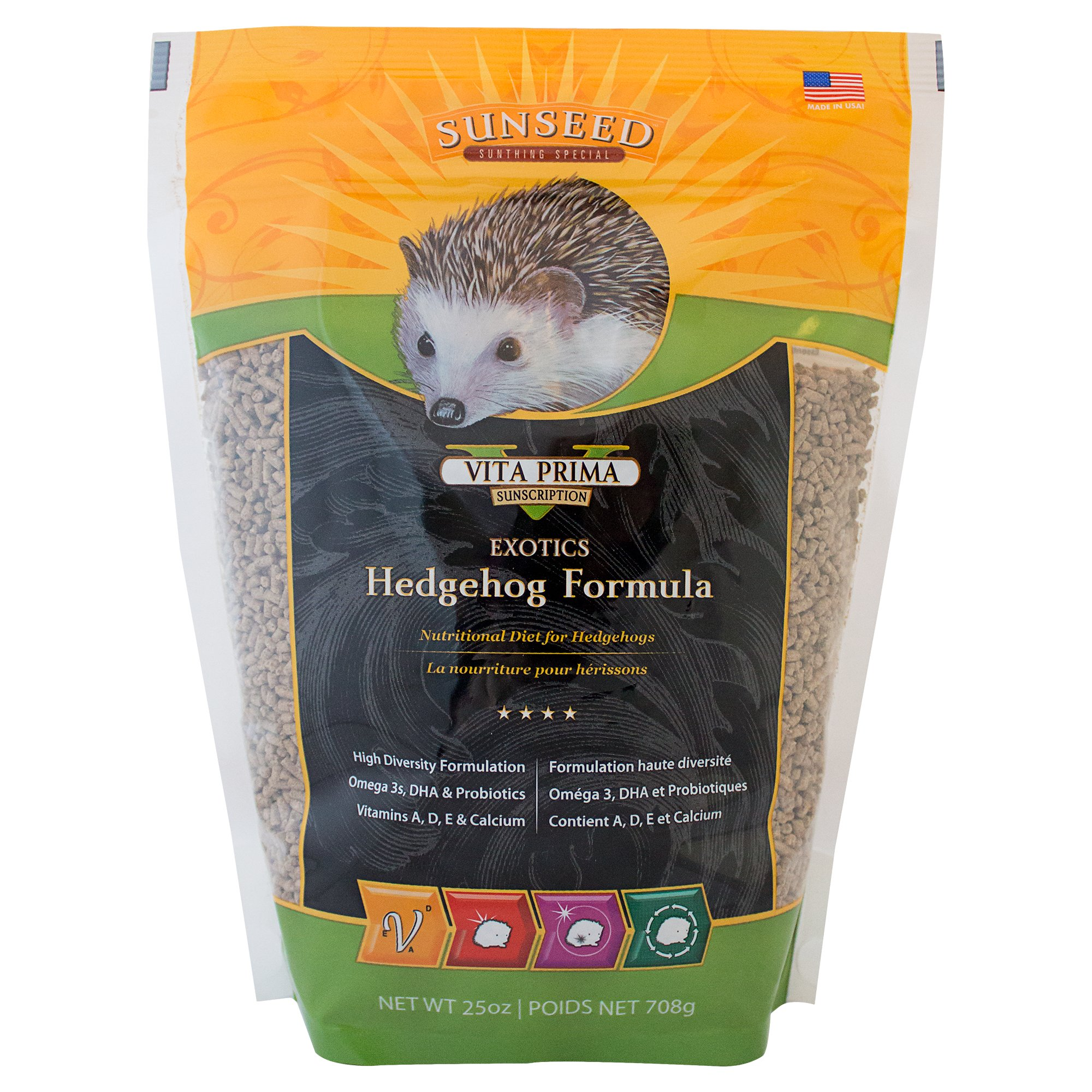 Sun Seed Sunscription Vita Hedgehog Adult Food