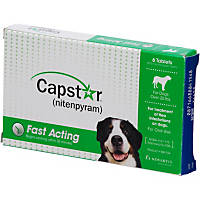 Capstar Flea Tablets for Dogs and Cats, 2 to 25 lbs.