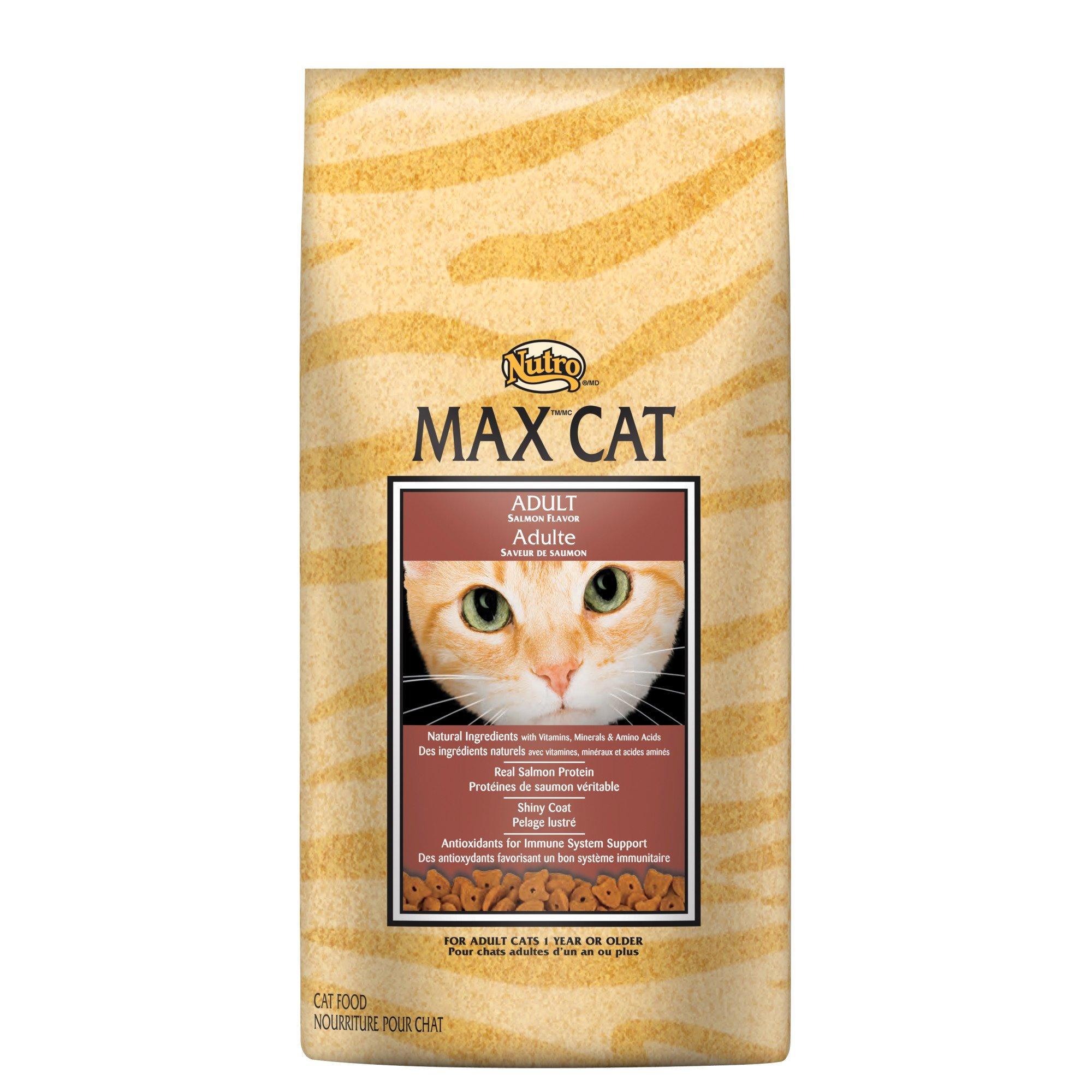 Nutro MAX CAT Adult Cat Food - Salmon Flavor