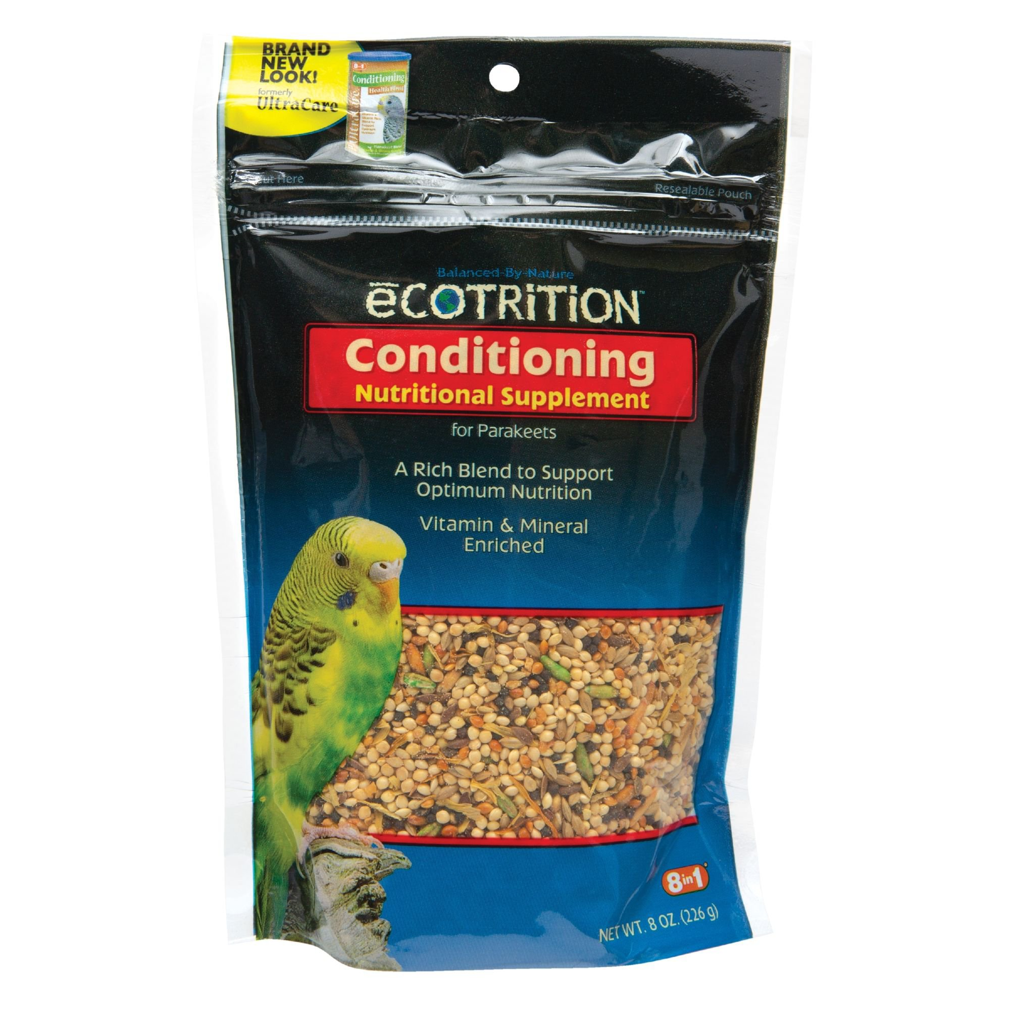 eCOTRITION Conditioning Health Blend for Parakeets