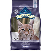 Blue Buffalo Wilderness Chicken Recipe Adult Cat Food