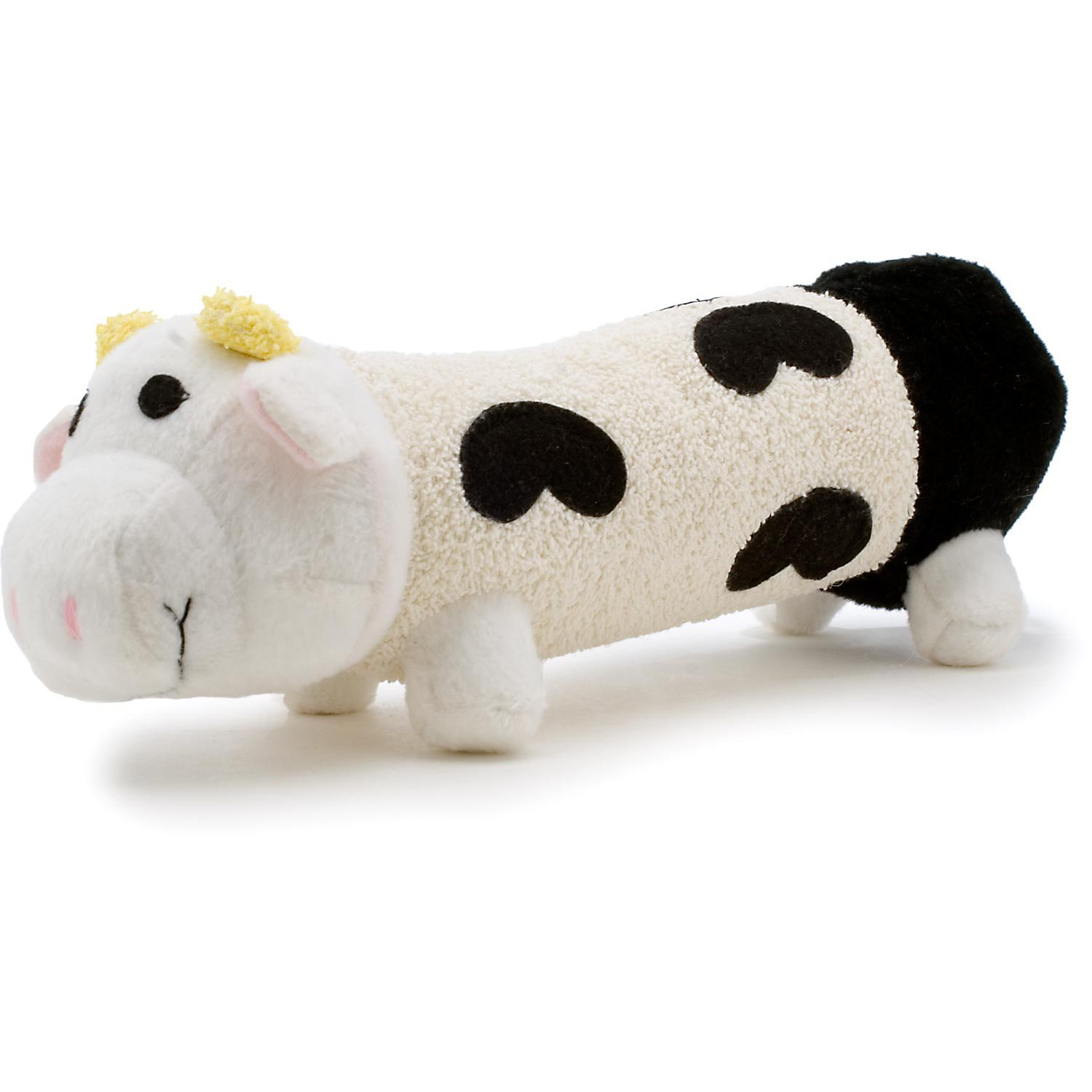 Booda Tuff Plush Long Friends Cow