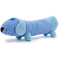 Booda Tuff Plush Long Friends Dog