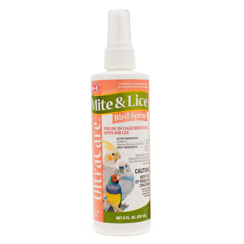 8 in 1 Ultra Care Mite & Lice Bird Spray