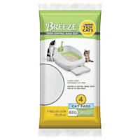 Purina Tidy Cats BREEZE Cat Pads Refill for Multiple Cats 4 ct Pouch