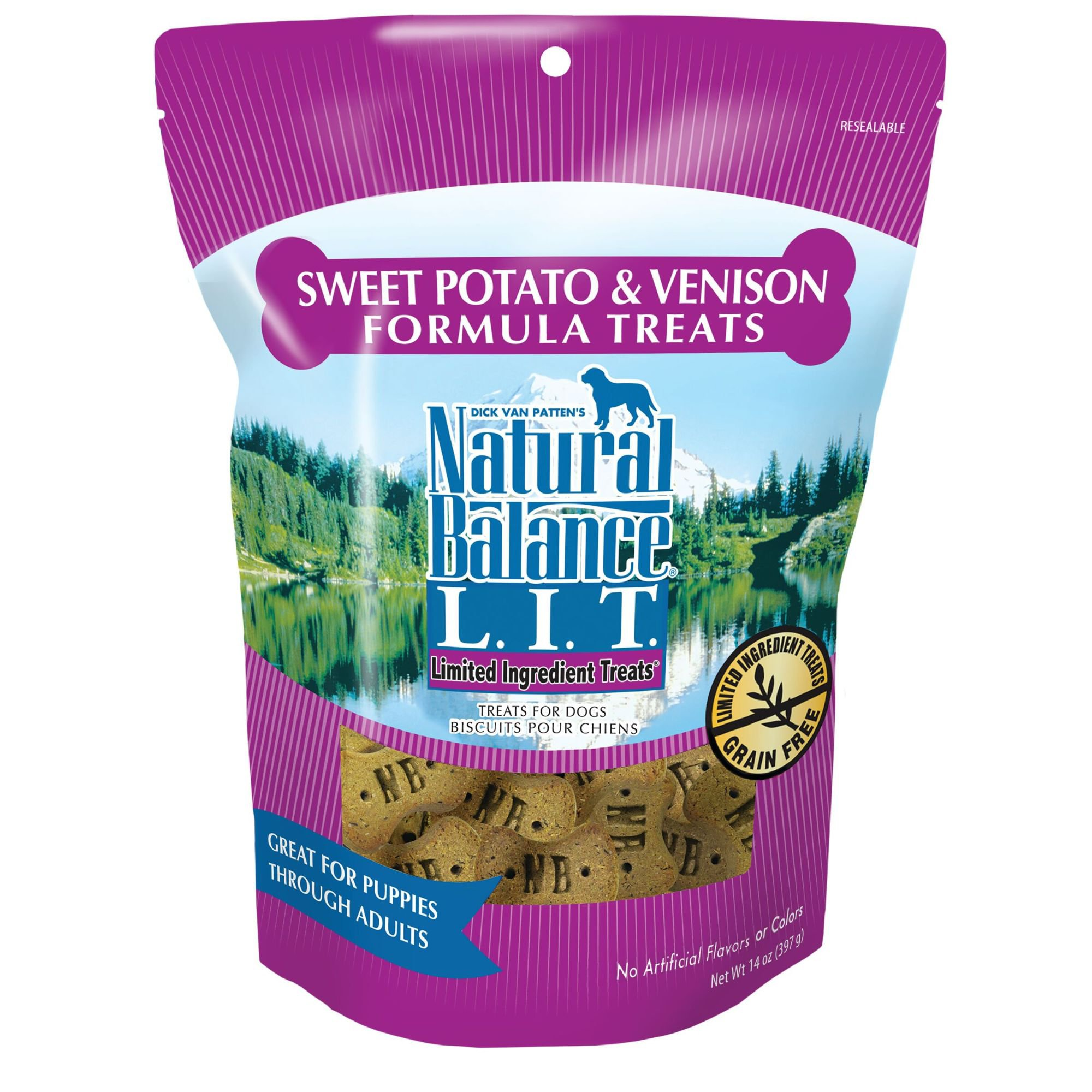 Natural Balance L.I.T. Limited Ingredient Dog Treats