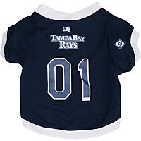 Tampa Bay Rays MLB Dog Jersey