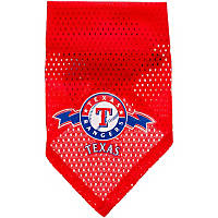 Texas Rangers MLB Dog Bandana