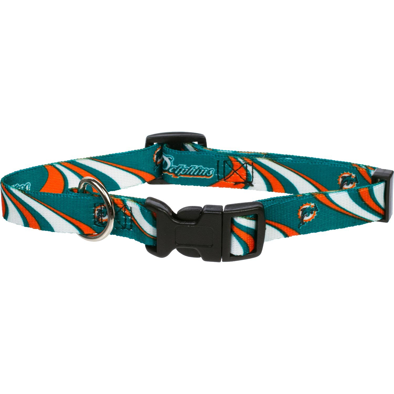 Miami Dolphins NFL Dog Collar