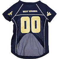 West Virginia Mountaineers College Pet Jersey