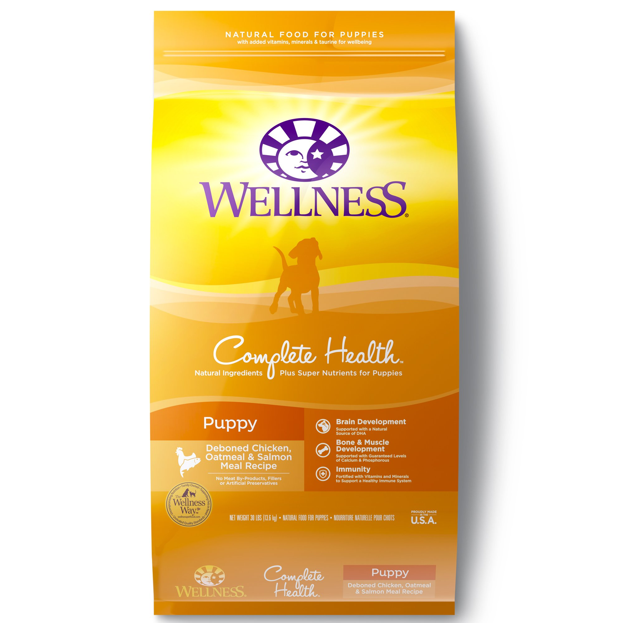 Wellness Complete Health Deboned Chicken Oatmeal & Salmon Meal Puppy Food