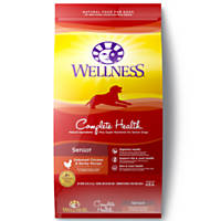 Wellness Complete Health Deboned Chicken & Barley Senior Dog Food