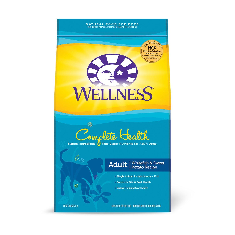 Wellness Complete Health Whitefish & Sweet Potato Adult Dog Food