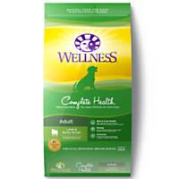 Wellness Complete Health Lamb & Barley Adult Dog Food, 30 lbs.