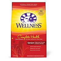 Wellness Complete Health Deboned Chicken & Barley Senior Dog Food, 15 lbs.