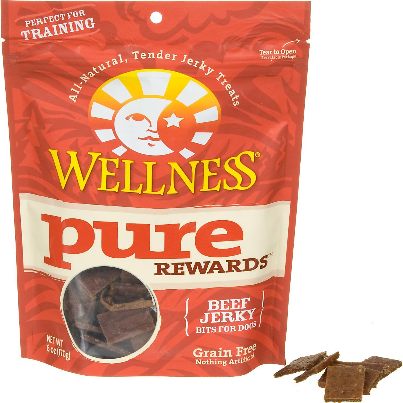 Wellness Pure Rewards Jerky Bits Dog Treats