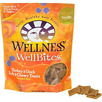 Wellness WellBites Turkey & Duck Soft & Chewy Dog Treats
