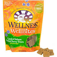 Wellness WellBites Lamb & Salmon Soft & Chewy Dog Treats