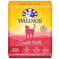 Wellness Complete Health Salmon Salmon Meal & Deboned Turkey Adult Cat Food