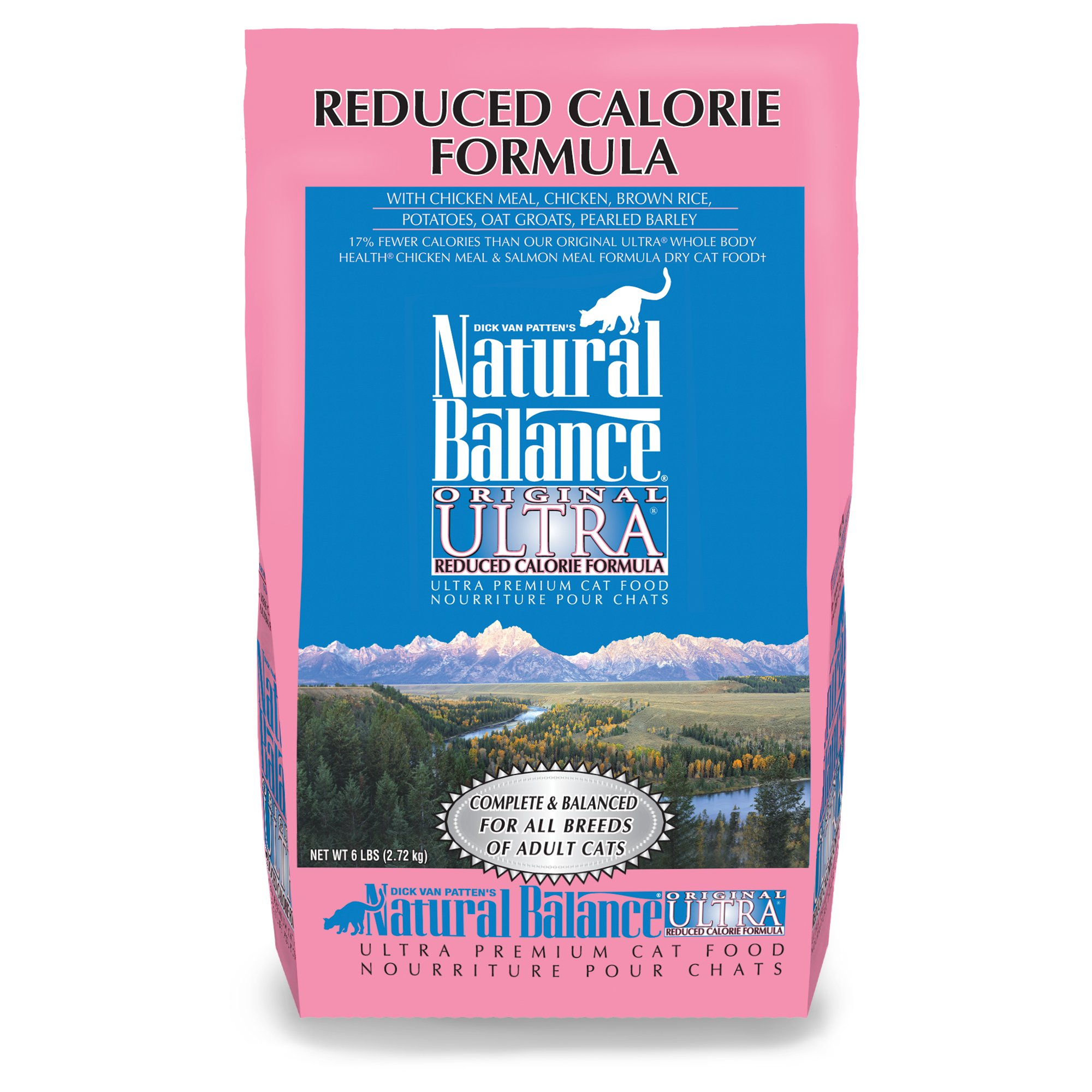 Natural Balance Reduced Calorie Formula Ultra Premium Cat Food