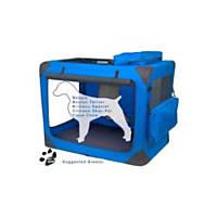 Pet Gear Deluxe Generation II Soft Crate in Blue Sky