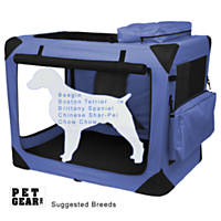Pet Gear Deluxe Generation II Soft Crate in Lavendar