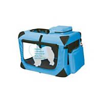 Pet Gear Deluxe Generation II Soft Crate in Ocean Blue