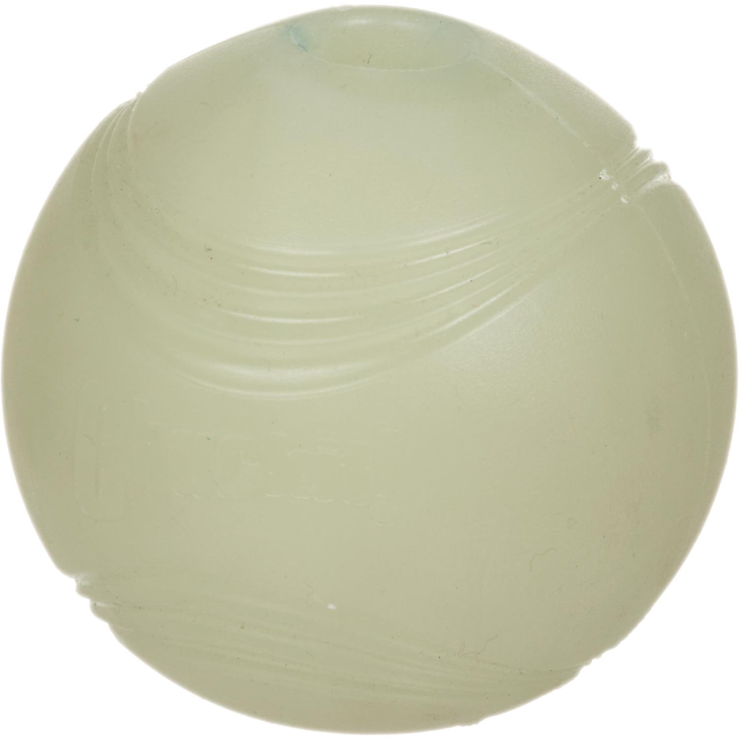 "Chuckit! Max Glow Rubber Ball (Large; 3"" Diameter; Use with Chuckit! Mega Ball Launcher)"