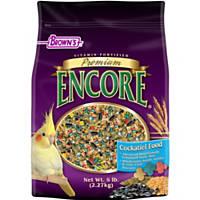 Brown's Encore Premium Cockatiel Food