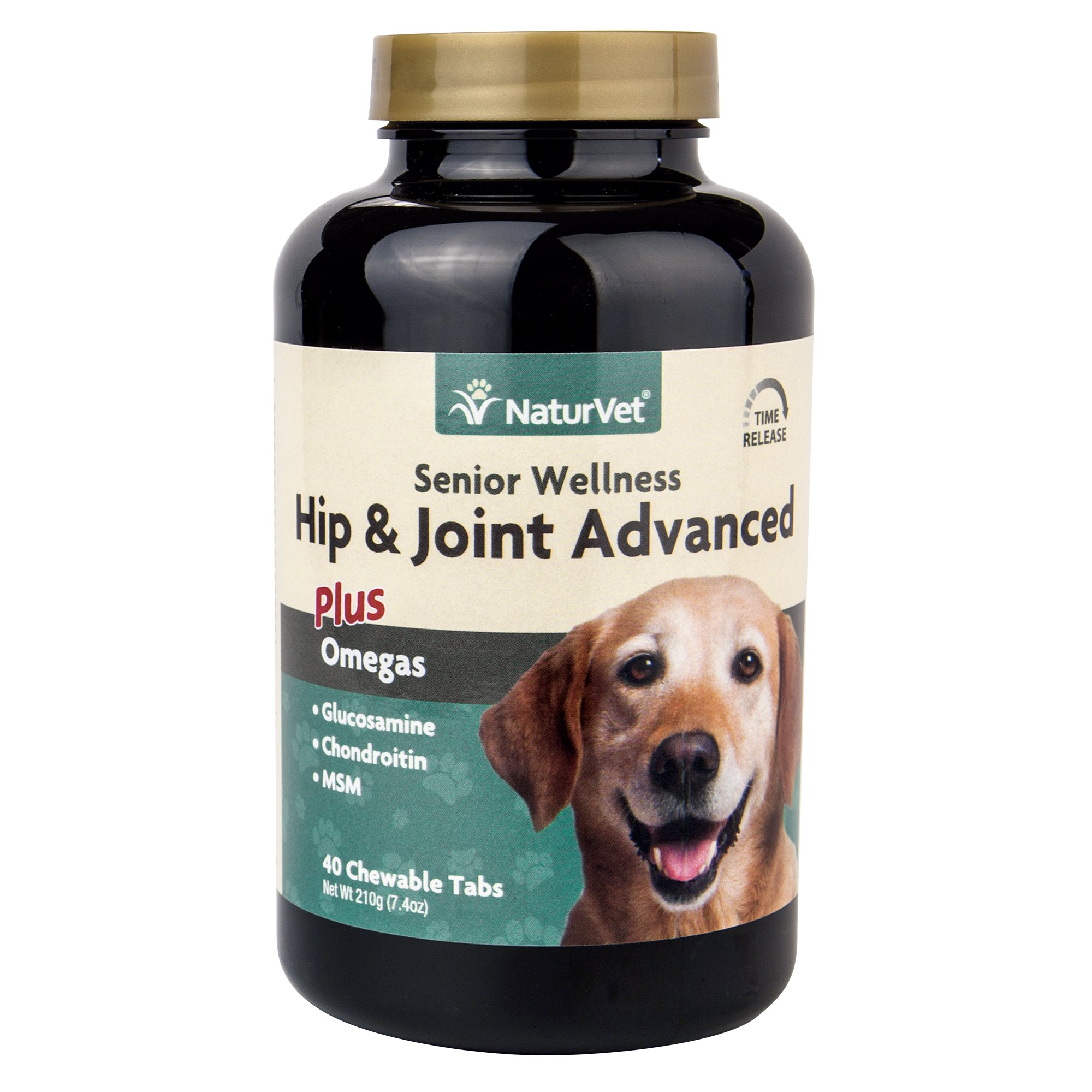NaturVet Senior Hip & Joint Tablets for Dogs