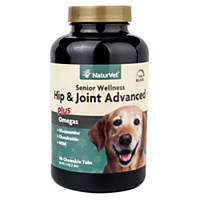 NaturVet Senior Hip & Joint Tablets for Dogs