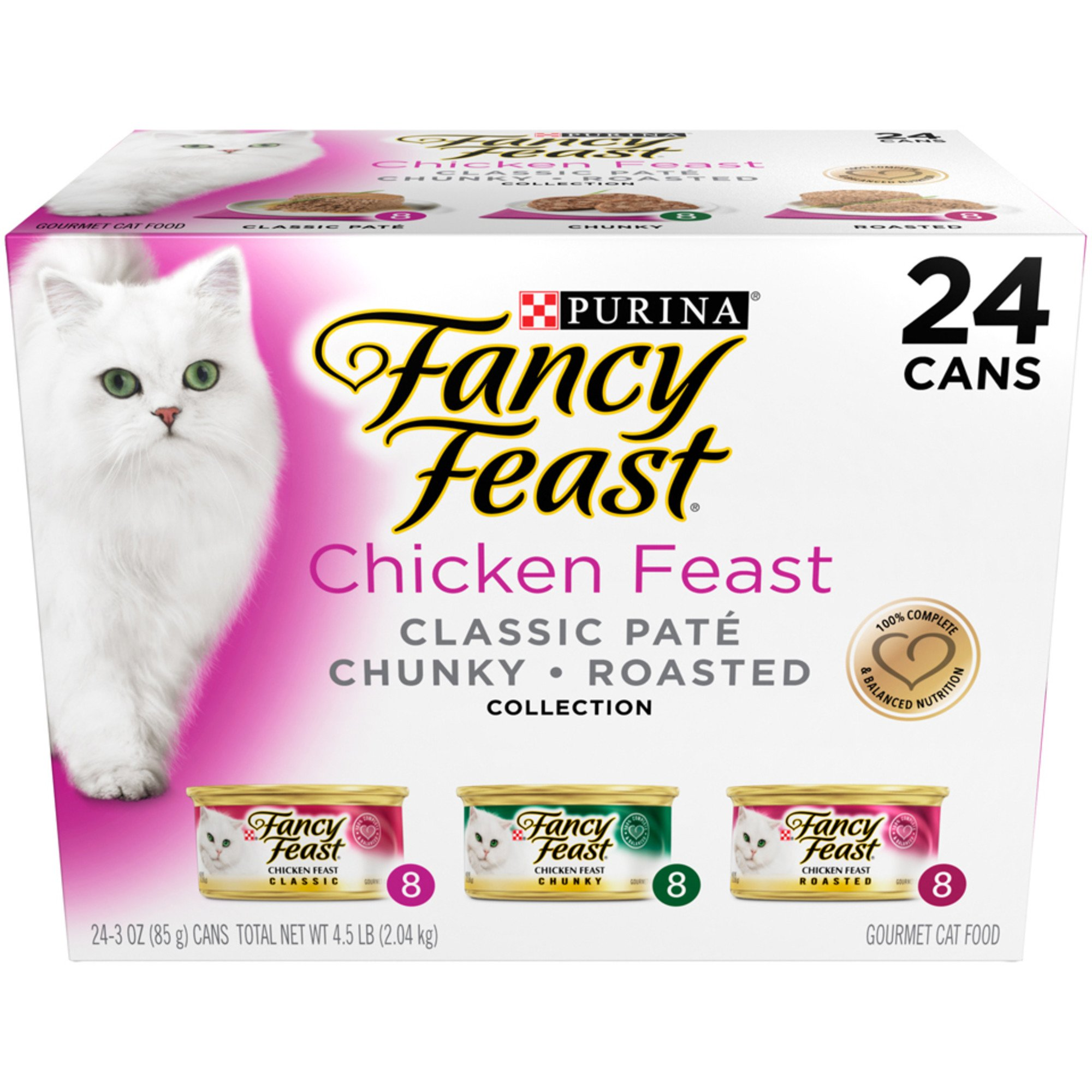 Fancy Feast Gourmet Chicken Feast Variety Pack Adult Canned Cat Food