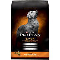 Pro Plan Savor Shredded Blend Chicken & Rice Dog Food