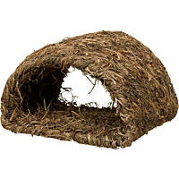 Peter's Woven Grass Hide-A-Way Hut for Rabbits